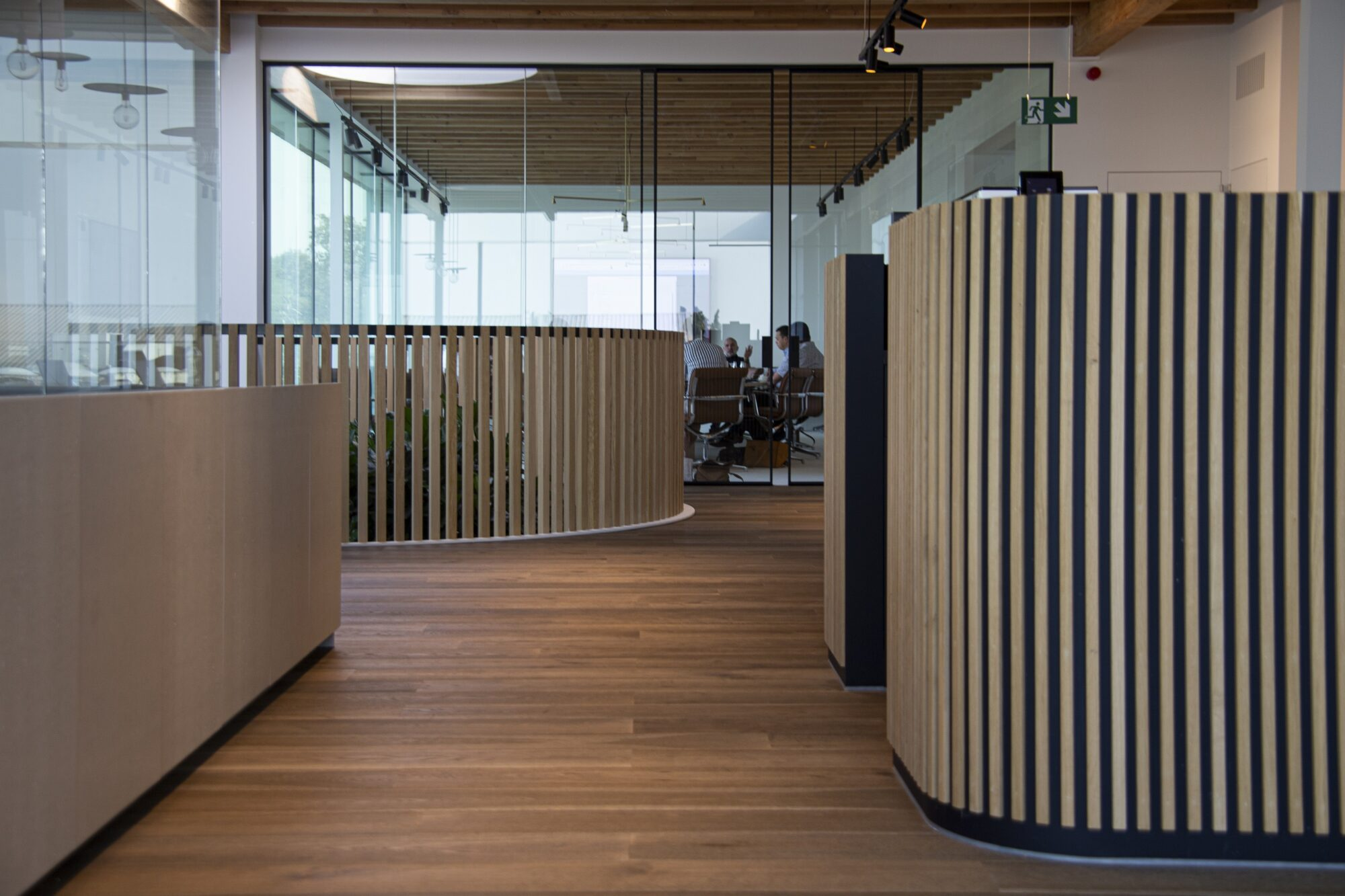 Binnenafwerking kantoorgebouw Ternat