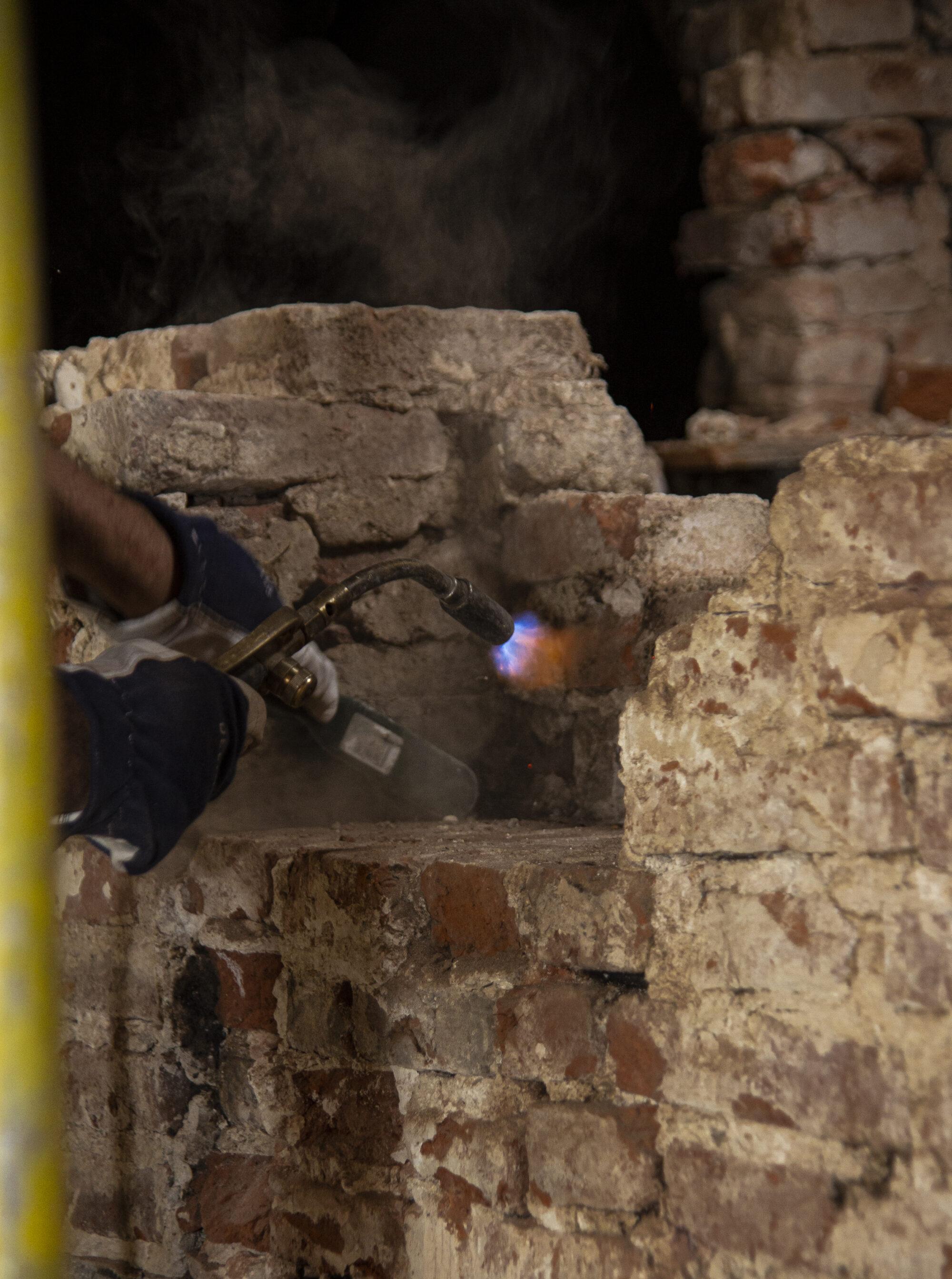 Arbeider speciale bouwtechnieken